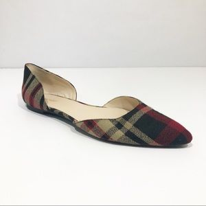 Nine West | Plaid Flats